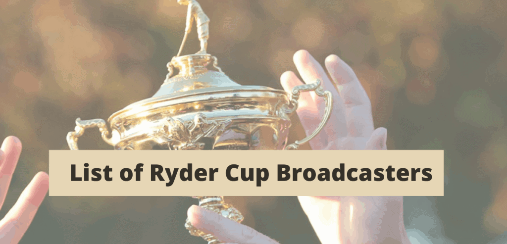 Ryder Cup Broadcasters